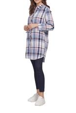Tribal Tribal Reversible Shirt Dress 7099O
