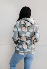 Ampersand Avenue DoubleHood Sweatshirt-better days