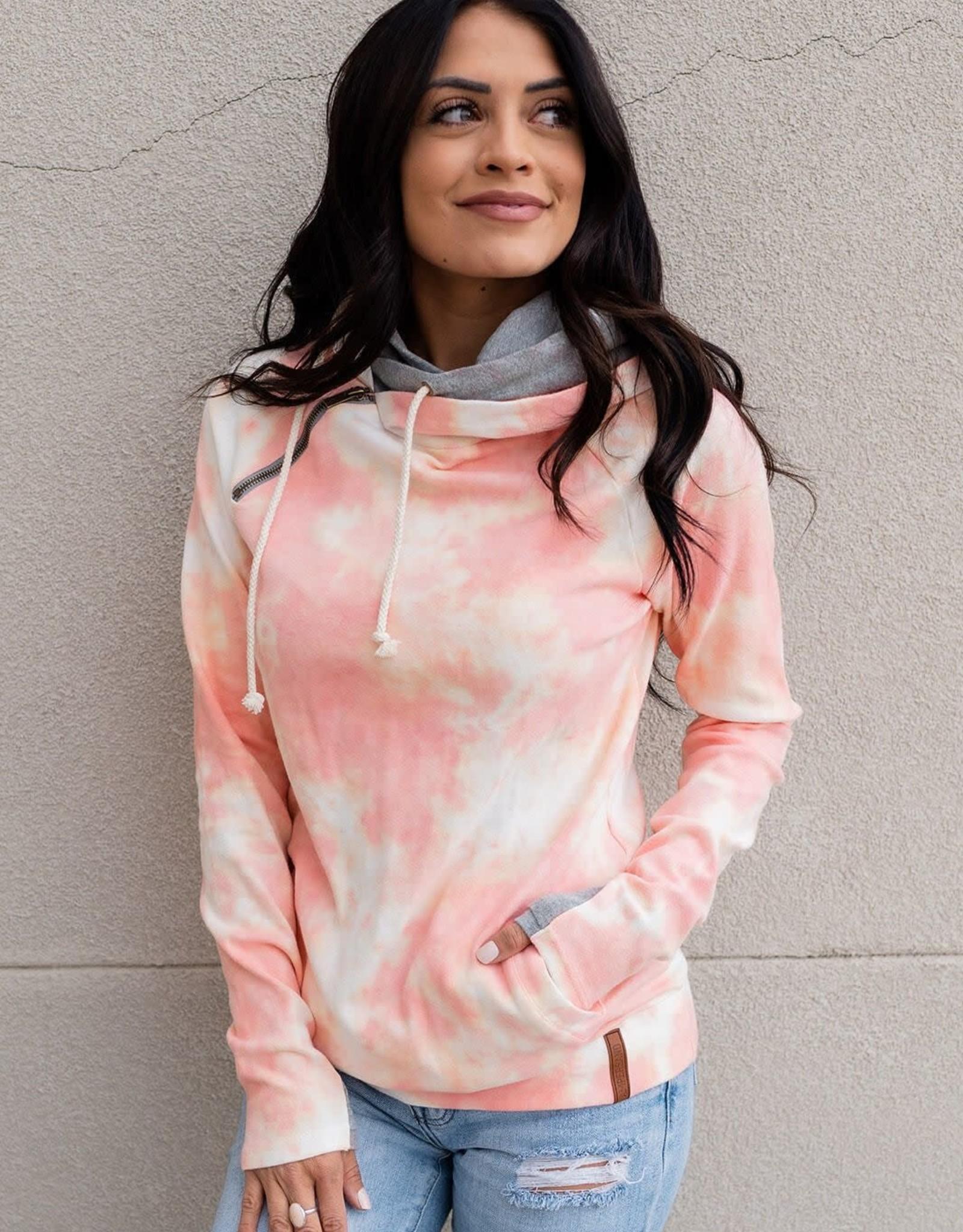 Ampersand Avenue DoubleHood Sweatshirt-sweet escape
