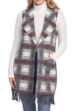 Tribal Tribal Tunic Vest with Fringe 4803O