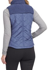 Tribal Tribal Zip Front Quilted Vest 4683O