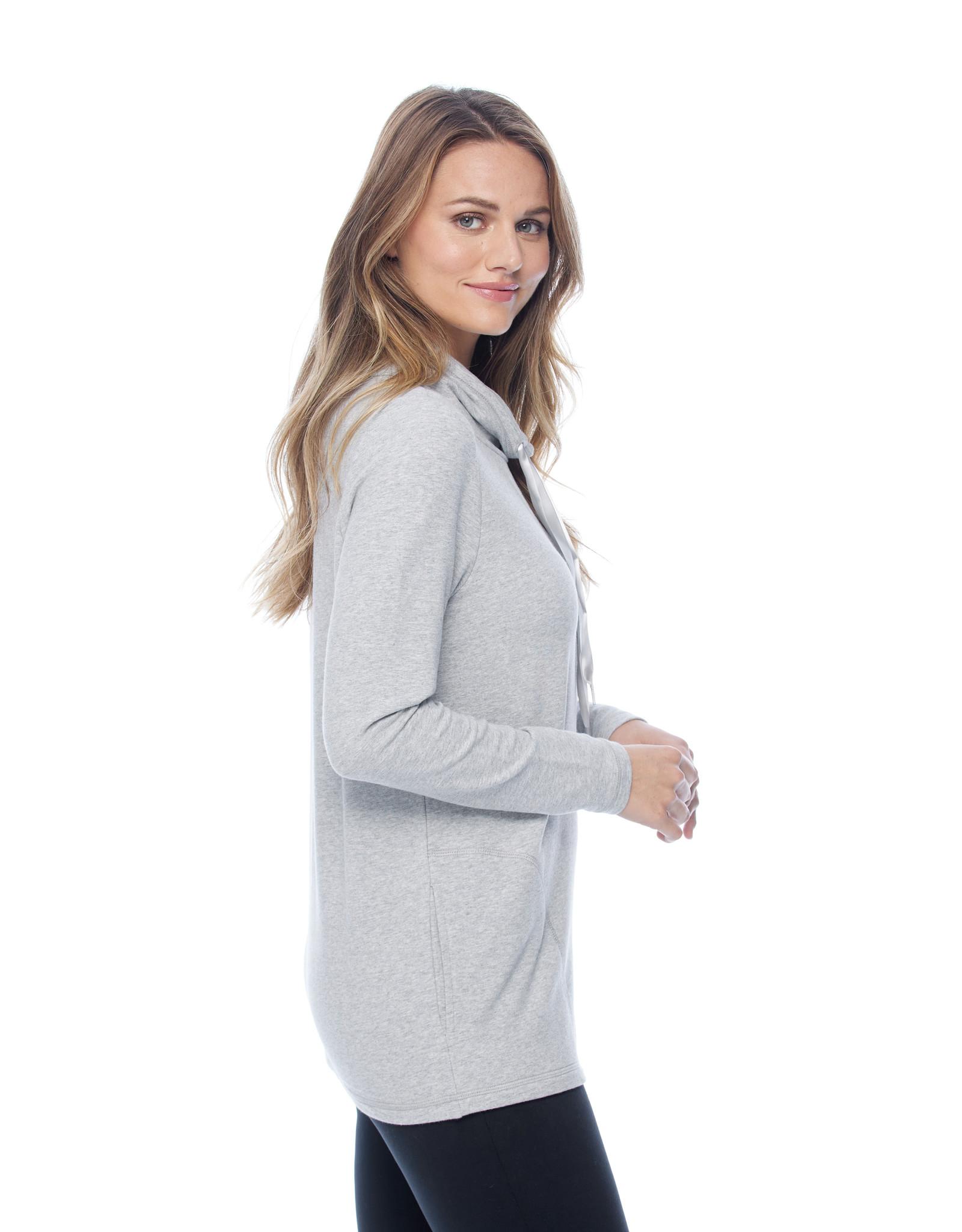 French Dressing Jeans FDJ soft vintage wash funnel neck top 1793155