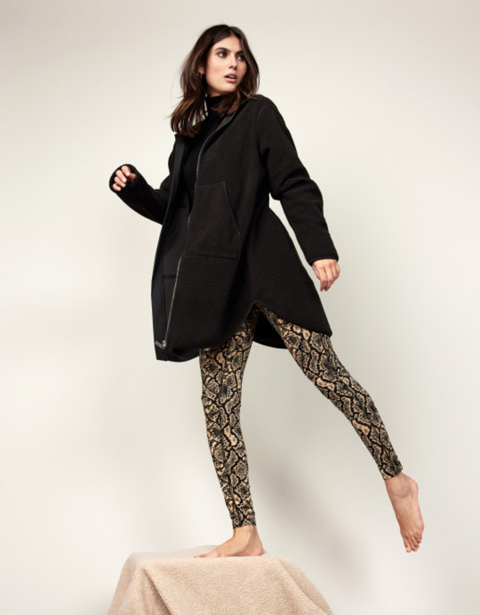 Soya Concept Soya Concept, Long Sherpa Jacket 25375