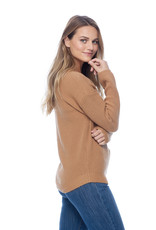 French Dressing Jeans FDJ, shaker stitch boat neck sweater, 1020882