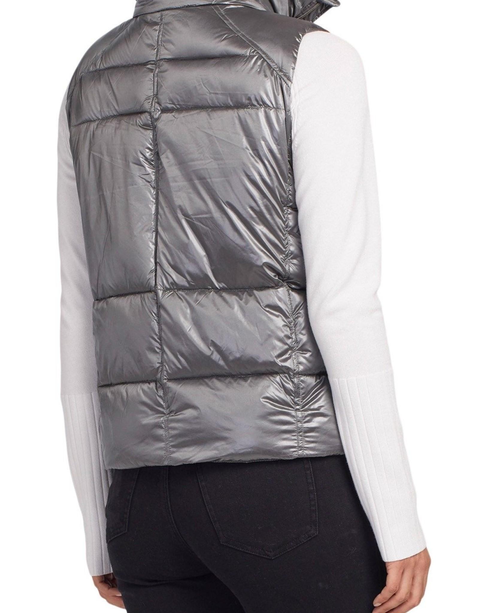 Tribal Tribal, Short Puffer Vest, 7233O