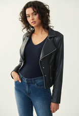 Joseph Ribkoff Ladies faux leather biker jacket 213945