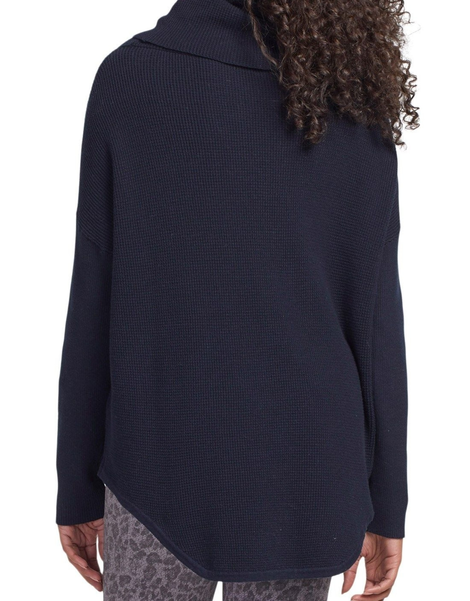 Tribal Tribal, Long Sleeve Cowl Neck Sweater, 4655O