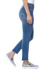 French Dressing Jeans FDJ Pull On Cigarette Leg 2195669
