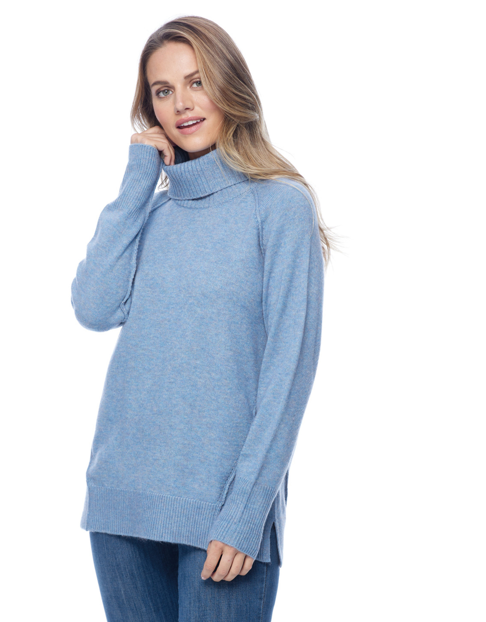 French Dressing Jeans FDJ 1841333 Relaxed Cowl Neck Sweater