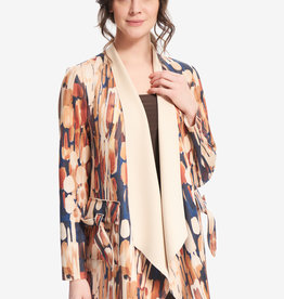 Joseph Ribkoff Joseph Ribkoff 214106 Ladies Cover Up with Pockets that Tie with a Bow