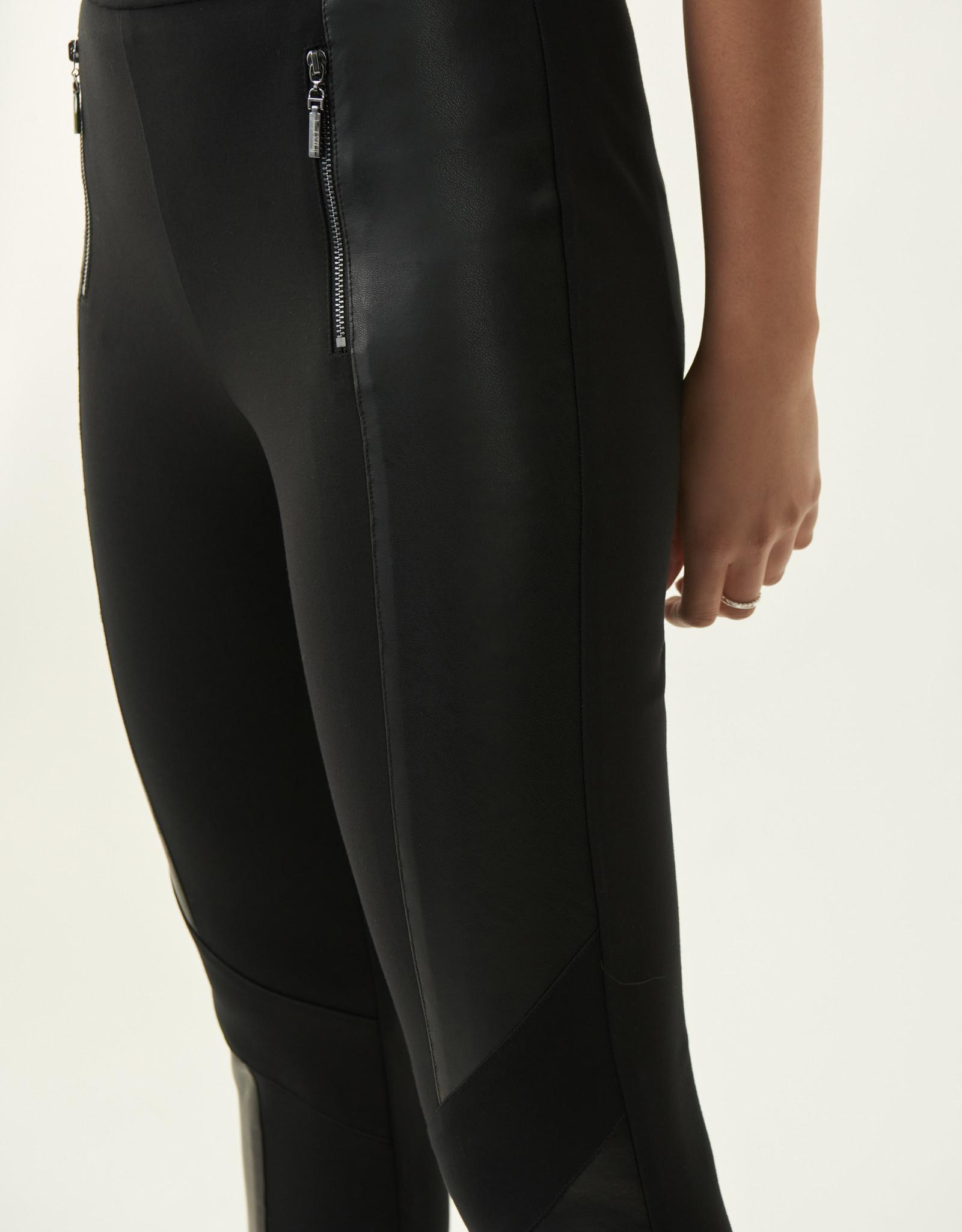 Joseph Ribkoff Joseph Ribkoff pant with leather trim 213385
