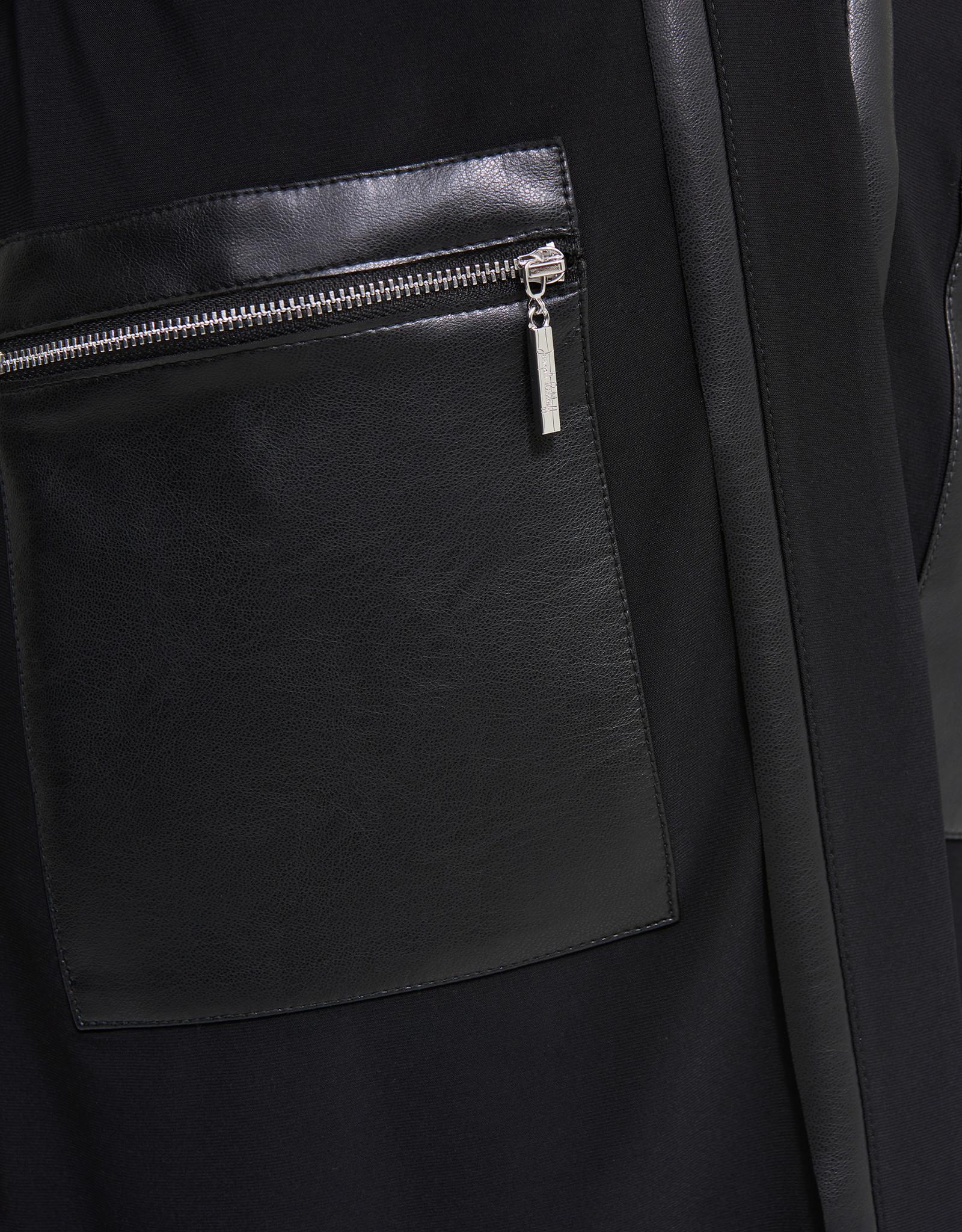 Joseph Ribkoff Joseph Ribkoff blazer with leather trim 213683