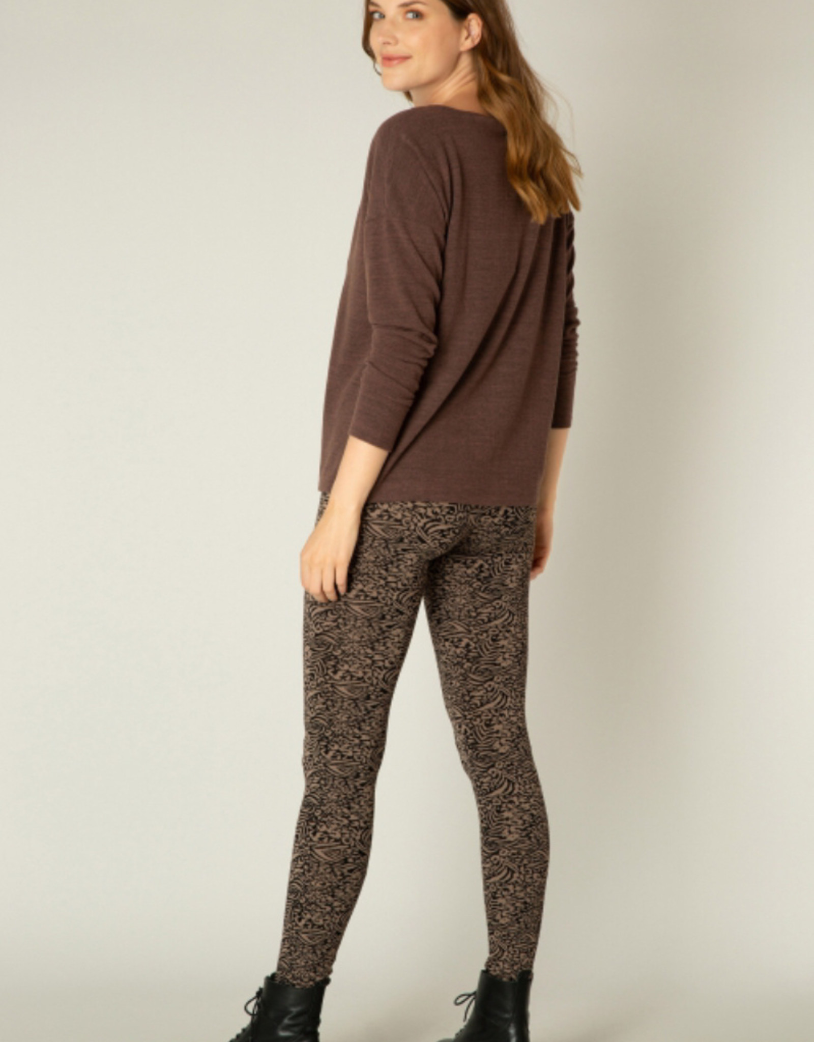Yest Yest 2226 Yessi Jersey Long Sleeve Top With Round Neckline