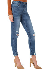 Liverpool Liverpool Gia Glider Skinny Jeans W/ Fray LM2666CH9
