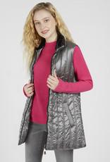 Renuar Renuar R3756 Zip Up Woven Vest with Pockets