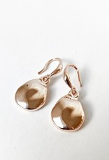 Caracol Caracol 2432 Earrings with Textured Metallic Drops