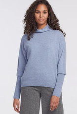 Tribal Tribal Cashmere Funnel Neck Sweater 4752O