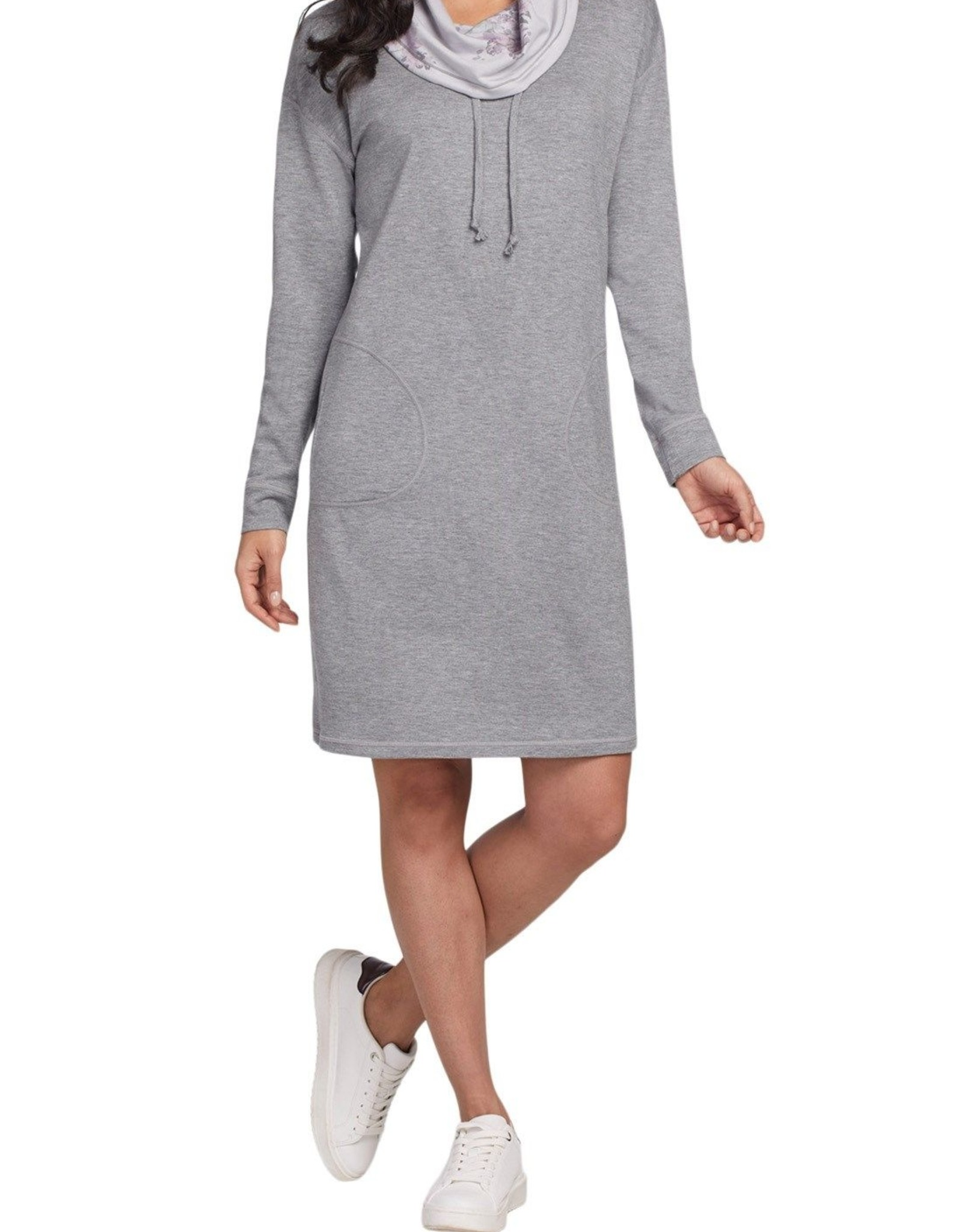 Tribal Tribal, Reversible Cowl Neck Dress, 7123O