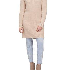 Tribal Tribal Cowl Neck Sweater Dress 7167O