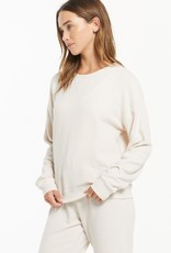 ZSUPPLY Z Supply ZT213880 Libby Soft Plush Crewneck Sweatshirt