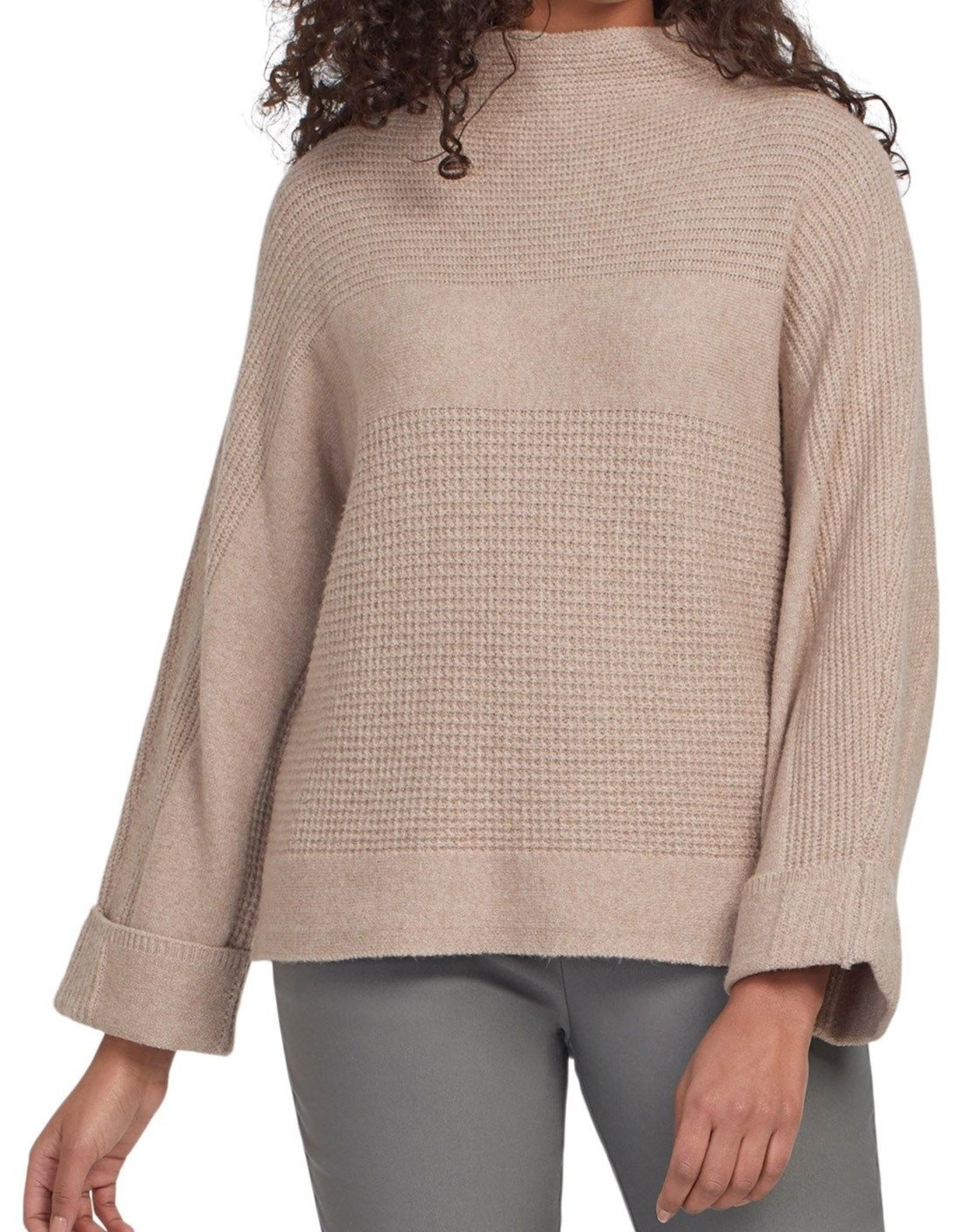 Tribal Tribal, Long Sleeve Funnel Neck Sweater , 4705O