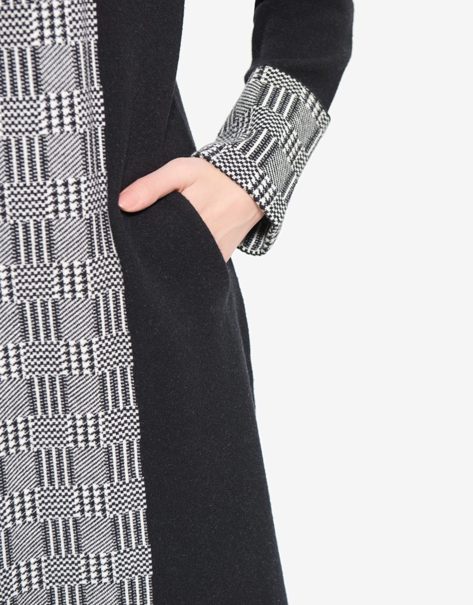 Joseph Ribkoff Joseph Ribkoff 214298 Long Cardigan Jacket with Hood