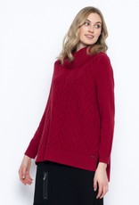 Picadilly Picadilly Chevron Pattern Sweater RK195