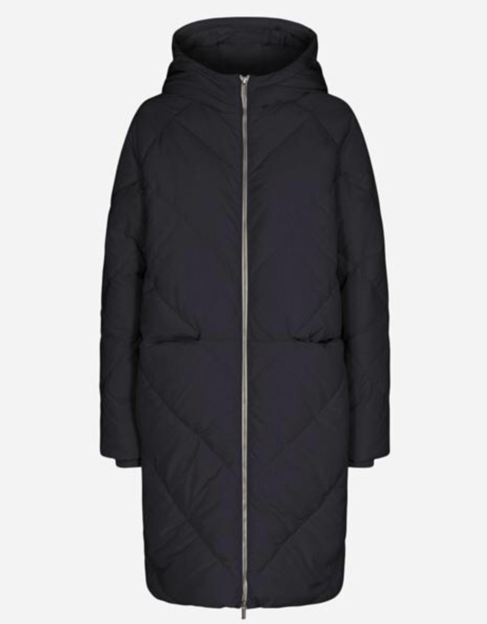 Soya Concept Soya Concept Nina 12 Long Puffer Jacket with a Hood