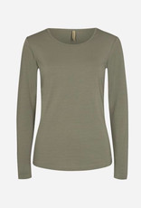 Soya Concept Soya Concept Pylle 2 Round Neckline Long Sleeve Knit Top