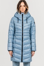 Point Zero Point Zero 8758400 Long Mid Weight Puffer Jacket up to -15 weather