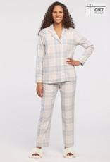 Tribal Tribal 7235O 2 Piece Plaid Pajama Set