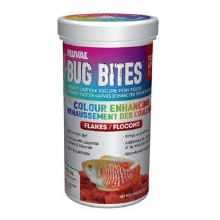 Fluval Fluval Bug Bites Colour Enhancing Flakes
