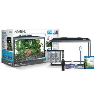 Marina 10 Gallon LED Aquarium Kit