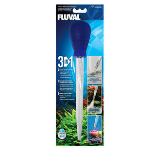 Fluval 3-in-1 Waste Remover/ Feeder - 28 cm (11in)