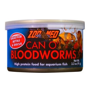 ZooMed Can O Bloodworms 3.2oz/91g