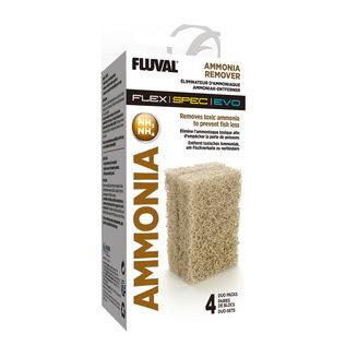 Fluval Fluval Spec Ammonia Remover - 4 x Duo Pack