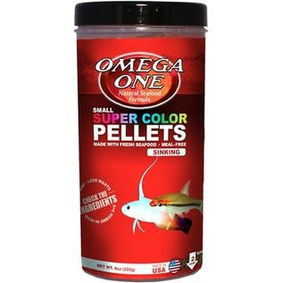 Omega One Super Color Pellets - Sinking - Small