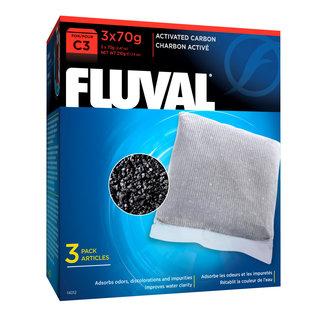 Fluval C3 Carbon 3 x 70  g