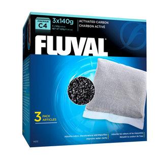 Fluval C4 Carbon 140 g (3 pack)