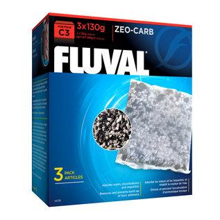 Fluval C3 Zeo-Carb 130 g (3 pack)