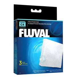Fluval Fluval C4 Poly Foam Pad (3 pack)