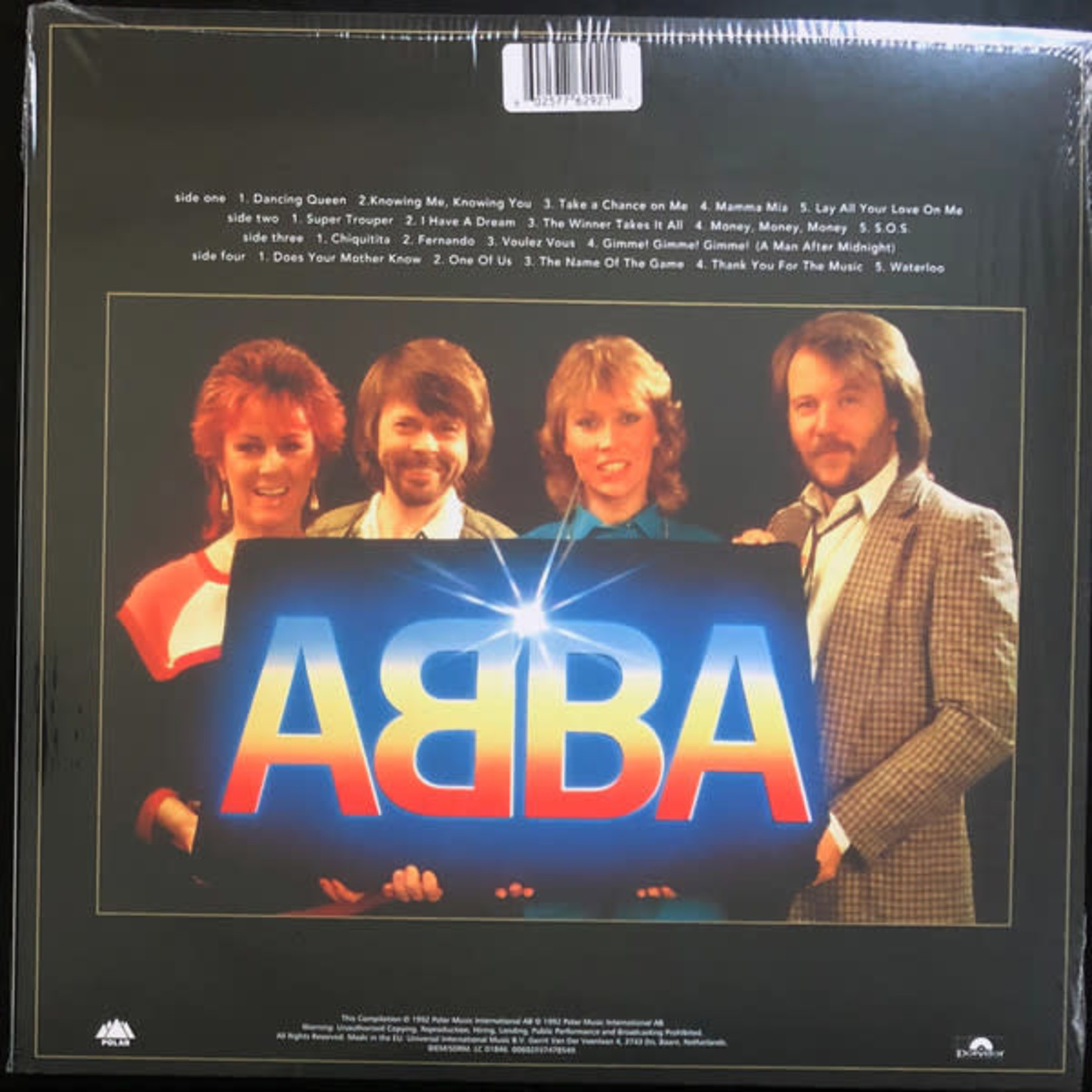 ABBA GOLD: GREATEST HITS (25TH ANNIVERSRAY) (LIMITED EDITION GOLD VINYL)