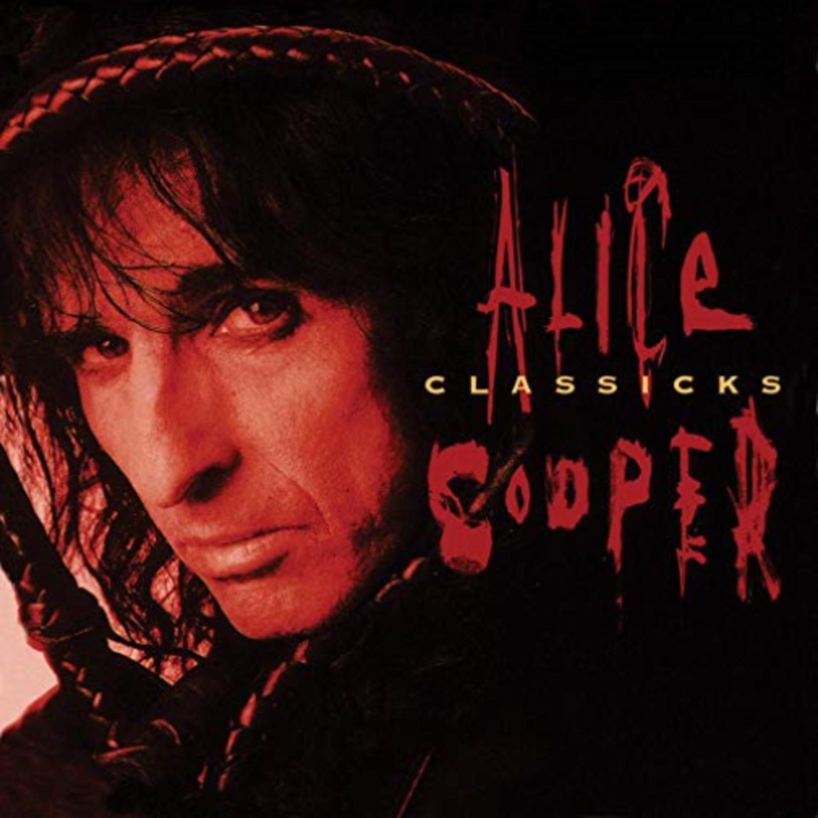 ALICE COOPER CLASSICKS - THE BEST OF ALICE COOPER (180 GRAM TRANSLUCENT RED & BLACK SWIRL)