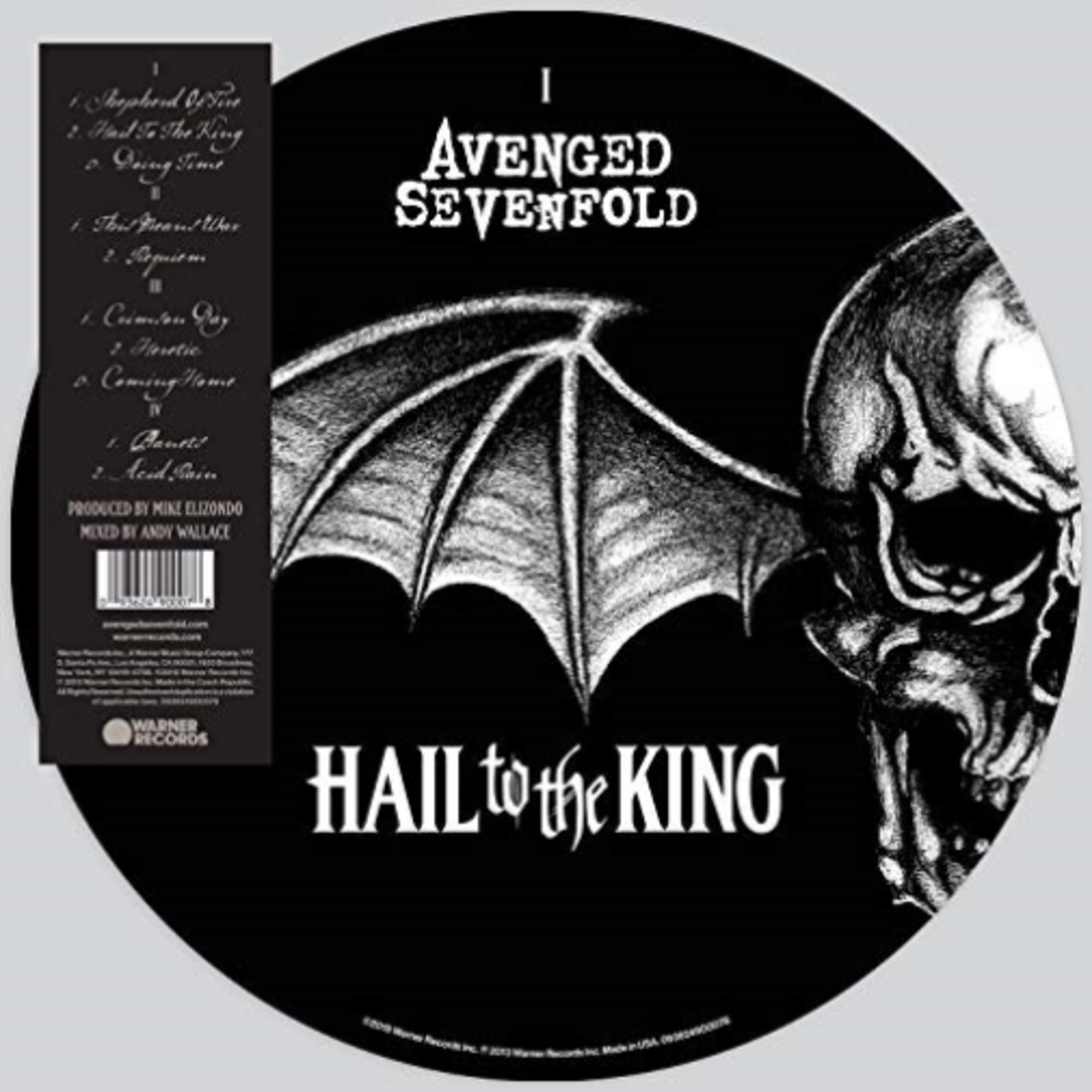 AVENGED SEVENFOLD HAIL TO THE KING (2LP PICTURE DISC SET)