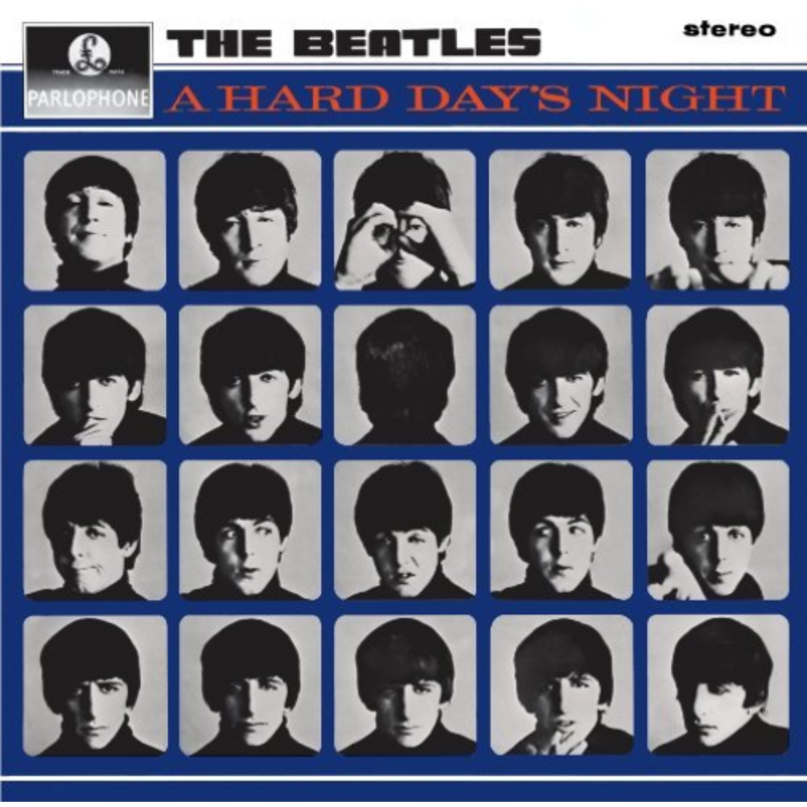THE BEATLES A HARD DAY'S NIGHT (STEREO REMASTERED)