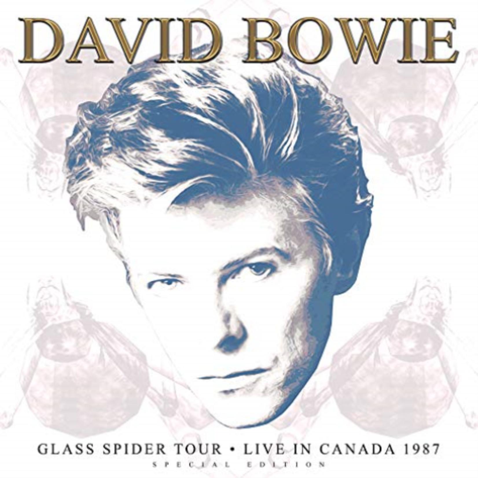 DAVID BOWIE GLASS SPIDER TOUR 1987 (LTD WHITE VINYL)