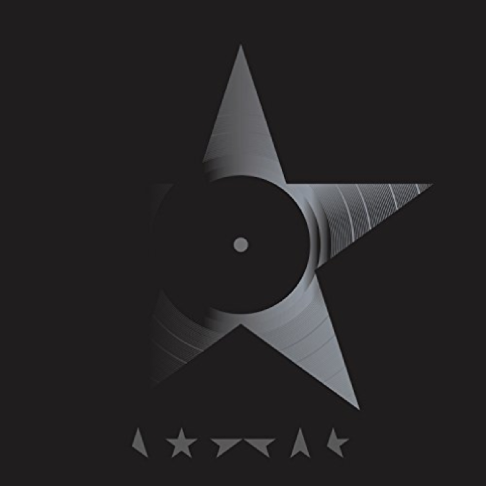 DAVID BOWIE BLACKSTAR (LP)