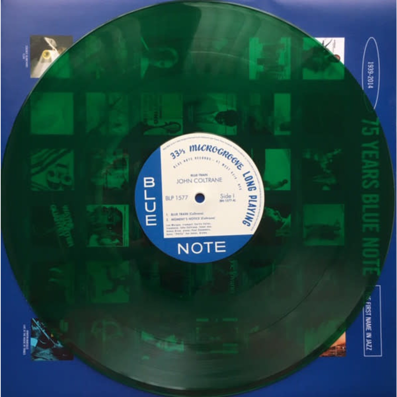 JOHN COLTRANE BLUE TRAIN (LIMITED EDITION TRANSLUCENT GREEN VINYL)
