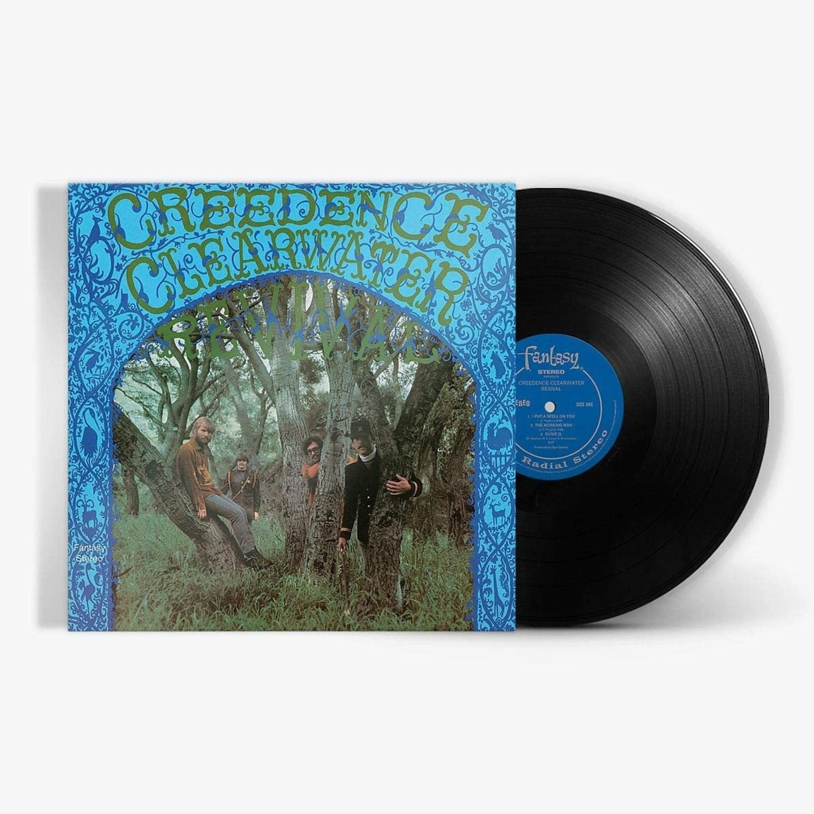 CREEDENCE CLEARWATER REVIVAL CREEDENCE CLEARWATER REVIVIAL (180G HALF SPEED LP)