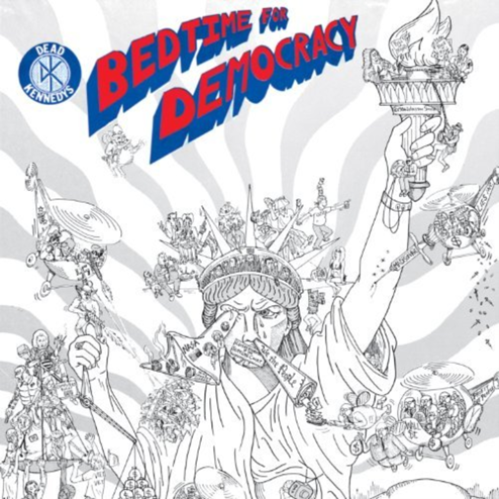 DEAD KENNEDYS BEDTIME FOR DEMOCRACY
